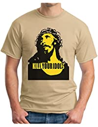 OM3 Kill Your Idols - T-Shirt 90s Jesus Hardcore Punk Grunge Music Band New York NYC USA Swag, S - 5XL