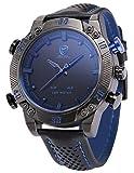 Shark Herren Armbanduhr LED SH265