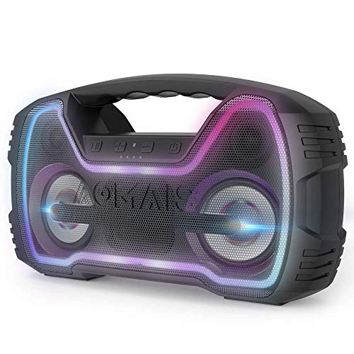 AOMAIS Haut-Parleur Bluetooth Portable...