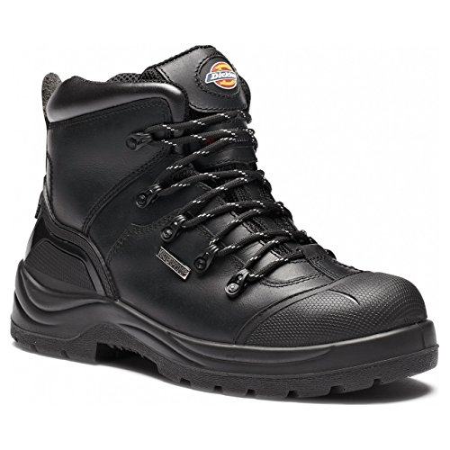 Dickies - Talpa, Scarpe antinfortunistiche da uomo, nero(black), 5.5 UK / 39 EU Nero(Black)