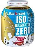 Eric Favre Iso 100% Whey Zero 2 kg - Framboisier