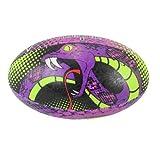 Optimum Venom - Balón de Rugby, multicolor, Midi