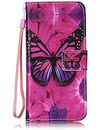 Mo-Beauty - Bolso al hombro para hombre Colorful,Butterfly Samsung Galaxy S8 Plus