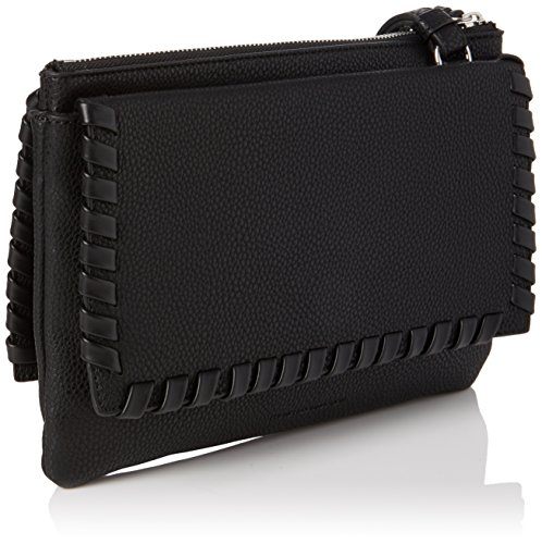 French Connection - Callie, Borsa a tracolla Donna Black (Black/Black)
