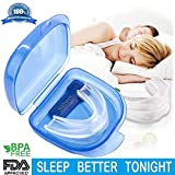 Anti Snore Devices, Mouth Guard, Gum Shield for Grinding Teeth & Snoring, 2-in-1