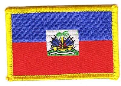 Flaggen Aufnäher Patch Haiti Fahne Flagge NEU (Haiti Patch Fahne)
