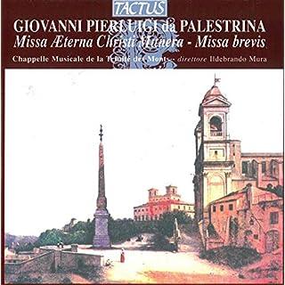 Missa Aeterna Christi munera (und andere Chorwerke)