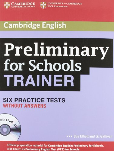 Preliminary for school trainer. Practice test without answers. Per gli Ist. Tecnici e professionali. Con CD Audio. Con espansione online