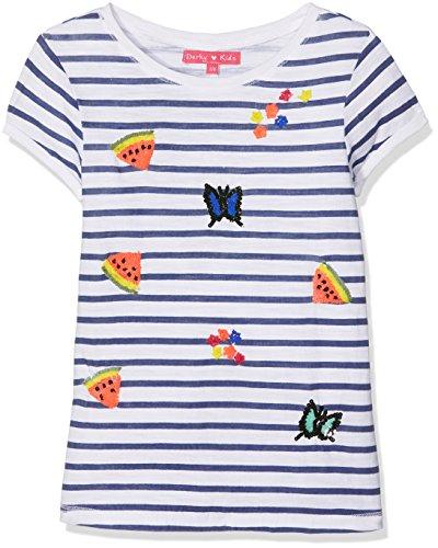 Derhy ADA, T-Shirt Bambina, Blu (Marine), 10-12 Anni (Taglia Produttore: 10-12 Anni)