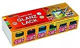 Hobby Line 79600 - Acryl- Glanzlack Creativ-Set 6 x 20