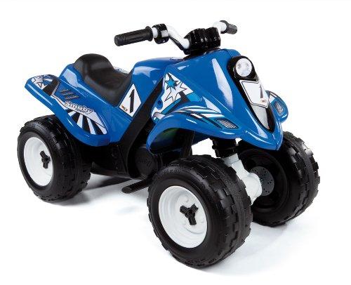Smoby - 33051 - Quad Electrique Rallye - Blue