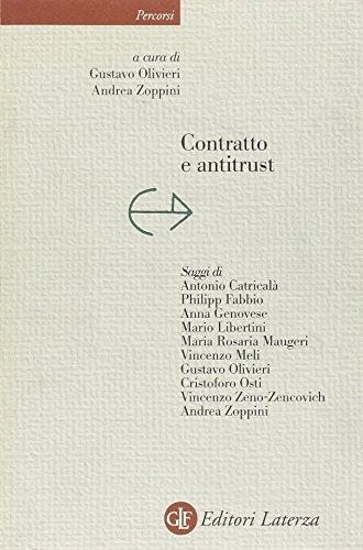 Contratto e antitrust