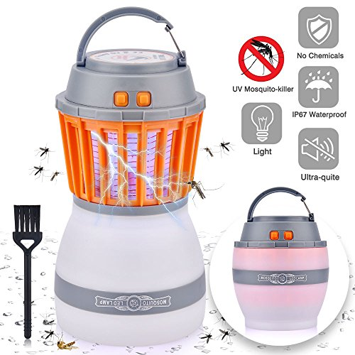 BASEIN Lámpara Camping Antimosquitos Linterna