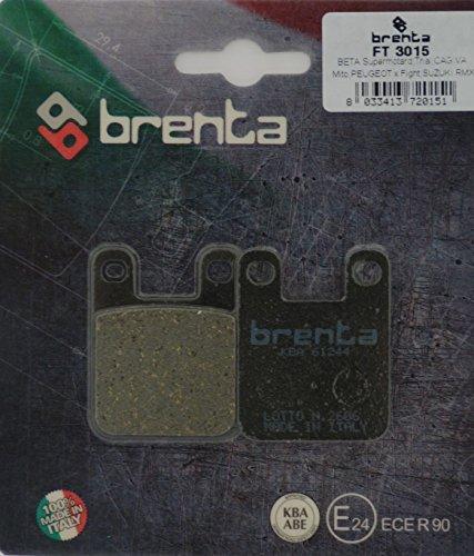 Brenta Pastillas freno organiche Moto para Alfer, Aprilia, Beta, Cipi, Derbi, Gas...