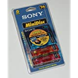 Sony Recordable MiniDisc (5 pack)