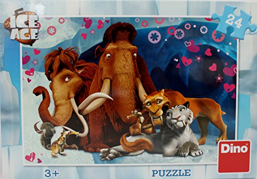 Dino Toys Dino toys351516Ice Age Liebhaber Puzzle (24) (Ice Party Supplies Age)