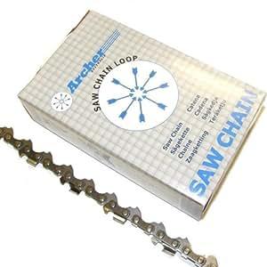 Archer 35 cm de chaîne Picco Micro Mini chaîne pour tronçonneuse 3/8 P .043 1,1 mm