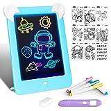 Tableta de Dibujo Pizarra 3D Mágico con Luces LED Educativo Infantil...