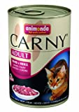 Animonda Carny Adult Rind plus Herz 400 g - Katzenfutter, 6er Pack (6 x 400 g)