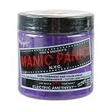 Manic Panic Semi Permanent Hair Color Cream - Electric Amethyst 4 oz. by Manic Panic