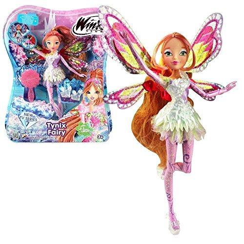 Winx Club - Tynix Fairy Puppe - Fee Flora magisches Gewand