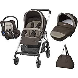 Bébé Confort Poussette Combinée Trio Streety Next - Earth Brown - Collection 2016