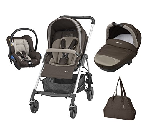Bébé Confort Poussette Combinée Trio Streety Next - Earth Brown - Collection...