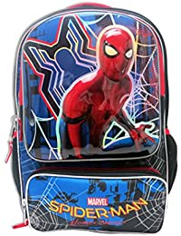 Mochila escolar Marvel Spiderman Homecoming con organizador