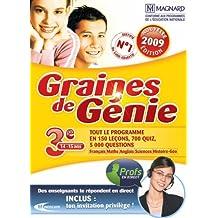 Graine de génie 3e 2008-2009