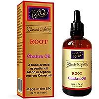 Chakra-Öl ROOT - Ätherische Öle aus Weihrauch, Myrrhe und Orange im Aprikosenkernöl. Für Yoga, Meditation oder... preisvergleich bei billige-tabletten.eu