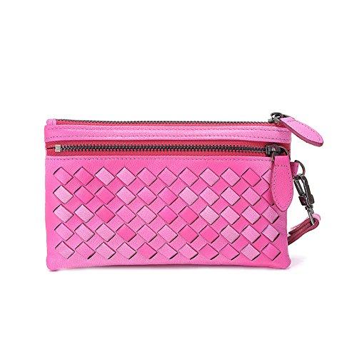 Gestrickte Handtasche Frau und gradient Geldbörse/[Gradient Geldbeutel]/Schlüssel-Tasche/Handy Packzip-A A