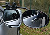 Maypole PAIR OF DELUXE EXTENSION TOWING CONVEX REAR VIEW MIRRORS CARAVAN MP8327