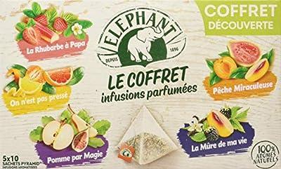 Elephant Coffret Infusions Parfumées 50 Sachets 94 g