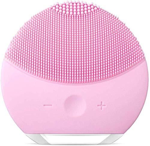 Silicone detergente viso spazzola di pulizia del viso, xiaoyi sonic electric silicone impermeabile massaggiatore (rosa3)