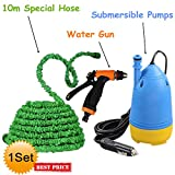 Krevia CHEJIEBA Portable Home and Car Electric Pressure Washer With Water Gun + 10m Special Hose Pipe + Submersible Pumps