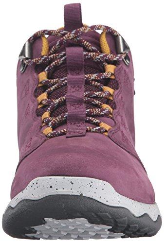 Teva Damen Arrowood Lux Mid Wp Trekking-& Wanderhalbschuhe violett - gelb