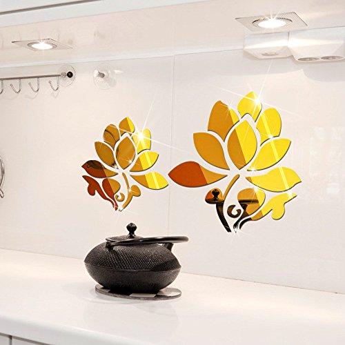 chenooxx-decoration-murale-acrylique-plat-surface-miroir-mural-miroir-lotus