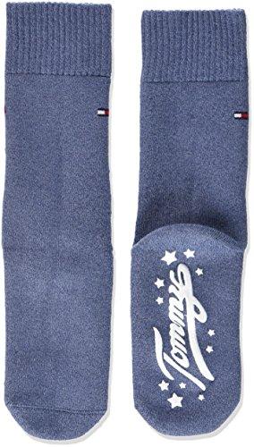 Tommy Hilfiger Jungen Socken TH Kids Homesock 1P, Blau (Jeans 356), 31-34 (Tommy Neugeborene Baby Jungen Hilfiger)