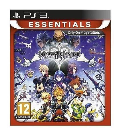Kingdom Hearts II 2.5 HD Remix PS3 Game (Essentials)