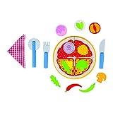 Goki 51644 - Küchenspielzeug - Pizza à la Carte