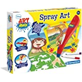 Clementoni- Art Attack Spray Art