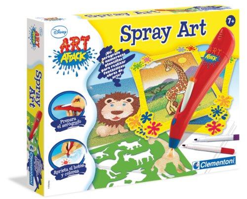 Clementoni Art Attack Spray Art