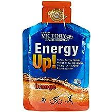 Weider Victory Endurance, Energy Up Gel, de Naranja - 960 gr - 24 unidades