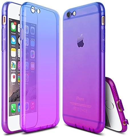 iPhone 6s/6 Case,JWCTECH Ultra-Thin Case Cover TPU Rubber Gel 4.7