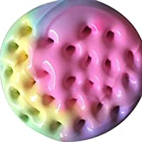 Poseimet Color Mixing Cloud Fluffy Slime, Squishy Putty Scented Stress Relief Clay Toy (60ml)