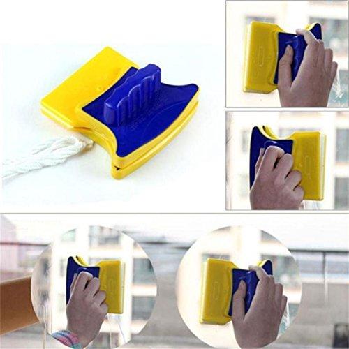 STRIR-Casa Limpiador de ventana magnético cuadrado para limpieza de cristales doble cara,STRIR kit de lavado Equipement limpiador artículo para vidrio de una sola capa en 3-6 mm