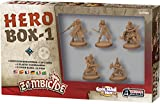 Asmodee UBIZBP05 Zombicide Black Plague, Hero Box 1