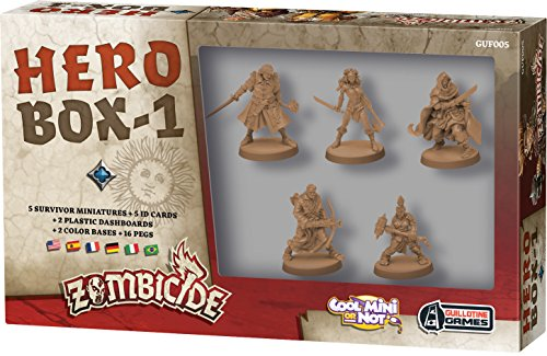 Asmodée – UBIZBP05 – Zombicide – Black Plague – Hero Box 1