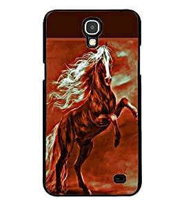 ColourCraft Amazing Horse Design Back Case Cover for SAMSUNG GALAXY MEGA 2