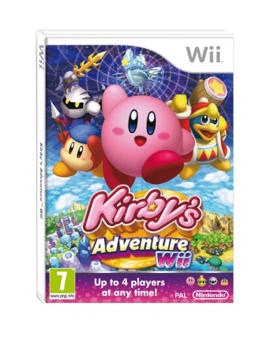 Kirby's Adventure Wii [UK - Adventure Wii Kirby